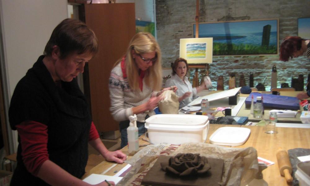 Nieuwe cursus tekenen, schilderen en keramiek