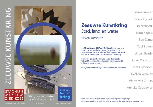 Zeeuwse Kunstkring expositie Stadsmuseum Zierikzee