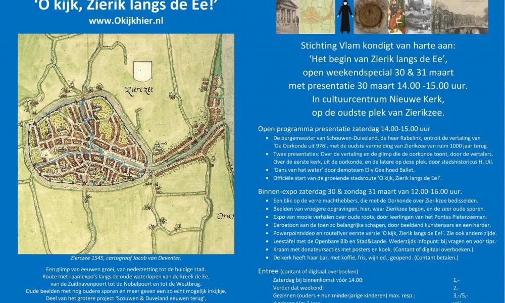 30 maart, Nieuwe Kerk, 800 jaar Zierikzee
